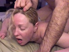 Painal Cute Blonde Gets Her Ass Fucked W Vibrator Stuffed In Her Pussy